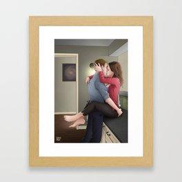 Fitzsimmons - Apartment Warming Framed Art Print