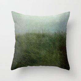 Summer Love at a Twilight Beach Throw Pillow
