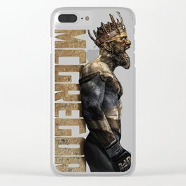 King of UFC conor mcgregor Clear iPhone Case