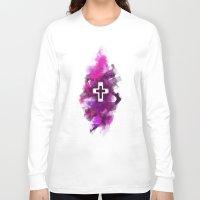 cross Long Sleeve T-shirts featuring cross by melazerg