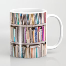 Library books Coffee Mug