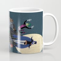 teen titans Mugs featuring Teen Titans by Fuacka