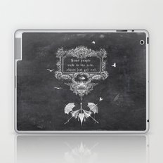 wet rain Laptop & iPad Skin