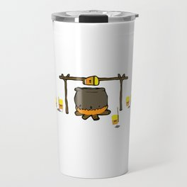 Candy Corn Cannibalism Travel Mug