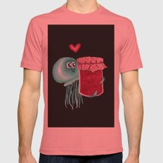 jelly's soul mate SMALL Pomegranate Mens Fitted Tee