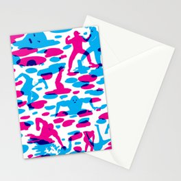 Acids vs. Bases Stationery Cards