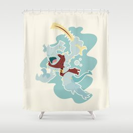 Hammerhead Shower Curtain