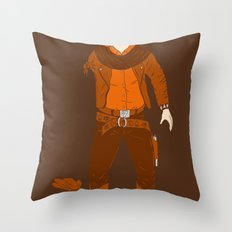 One Armed Bandit Throw Pillow