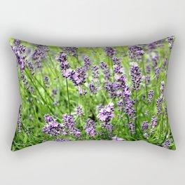 Lavender Plant Rectangular Pillow