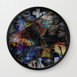 Many Faces in Time Wall Clock