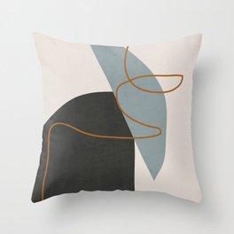 Minimal Abstract Art 3 Throw Pillow