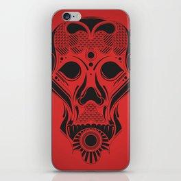SkullHead 01 iPhone Skin