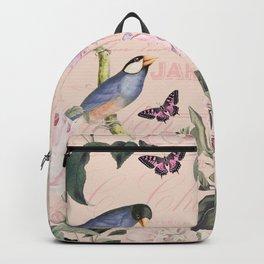 HAA-0278A Hummingbird Summer Backpack