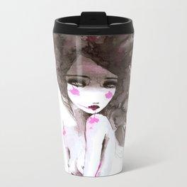 watercolor I Metal Travel Mug