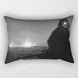 Funf Augen Sterben Rectangular Pillow