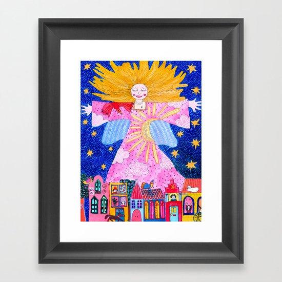 THE GUARDIAN ANGEL by kikisuarez