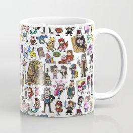 Cute Gravity Falls Doodle Coffee Mug