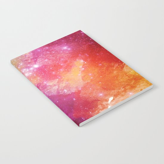 Watercolor space #2 Notebook