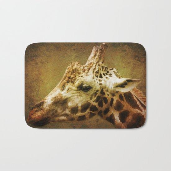 Giraffe wild Animal Africa Bath Mat