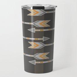 Arrow Gray Travel Mug