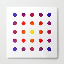 twentyfive dots o1 Metal Print