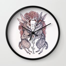 Rare Hearts Wall Clock