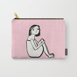 Resting in pink Carry-All Pouch