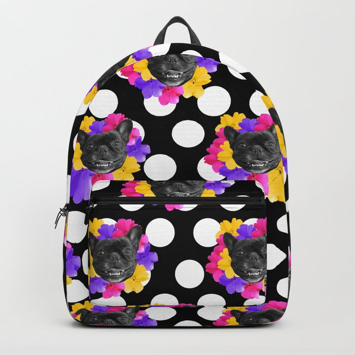 Pansy Frenchie Backpack