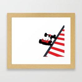 Senna Framed Art Print