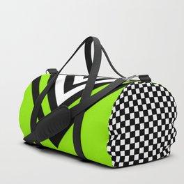 TCR- sports -green Duffle Bag