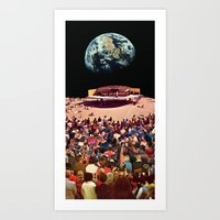 concert Art Prints featuring Concert by Martin Carri