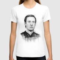 data T-shirts featuring Star Trek: Data by Olechka