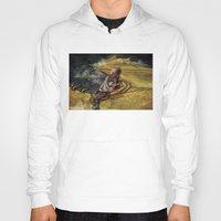 cyrilliart Hoodies featuring Dragon Series: Niall by Cyrilliart