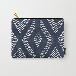 Birch in Navy Blue Carry-All Pouch