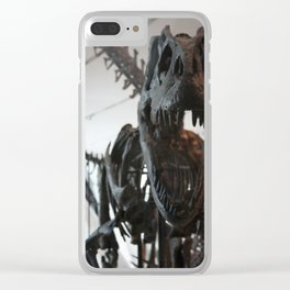 Raptor Fossil Photo Clear iPhone Case