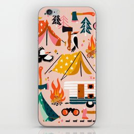 Camping Kit – Blush Palette iPhone Skin