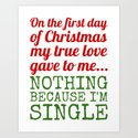 Single On The First Day of Christmas by creativeangel