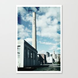 colt stack pipe  Canvas Print