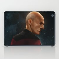 picard iPad Cases featuring Picard by Raven Krupnow