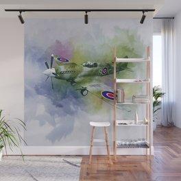 Spitfire Wall Mural