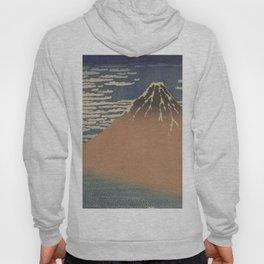 Clear weather and a southern wind - Katsushika Hokusai (1829-1833) Hoody