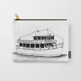 Old Ferry Boat Carry-All Pouch