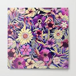 Floral dreams No1 Metal Print