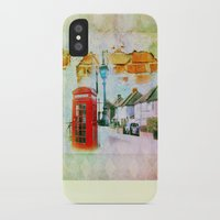 england iPhone & iPod Cases featuring England by Lora