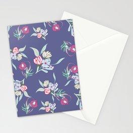 Petite Summer Purple Blue Stationery Cards