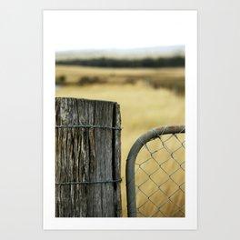 Summer Gate Art Print