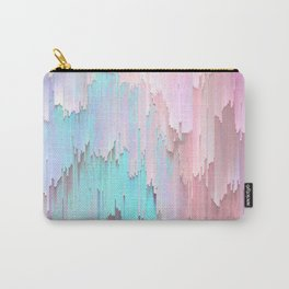 Pastel Glitches Fall Carry-All Pouch