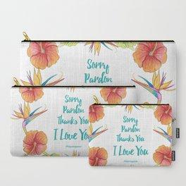 Sorry, Pardon, Thanks You, I love you, Ho'oponopono Carry-All Pouch