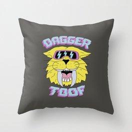 DAGGER TOOF Throw Pillow