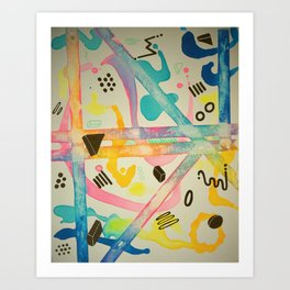 Mohawks Art Print